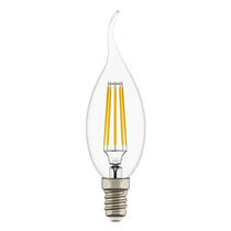 Лампа светодиодная свеча на ветру светодиодная LED E14 6W 3000K (933602)