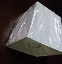 абажур белый к светильнику, патрон Е27