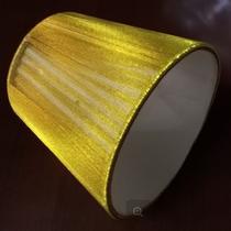 абажур золото к светильнику, патрон Е14