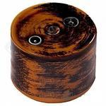 Розетка R/TV-Sat проходная дух старины керамика BIRONI В1-304-DS