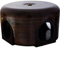 Распределительная коробка 110мм тигровое дерево керамика BIRONI B1-522-TW