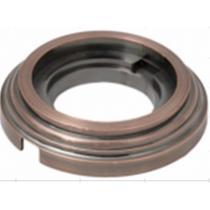 Рамка 1 постовая античная медь металл BIRONI BF1-610-34