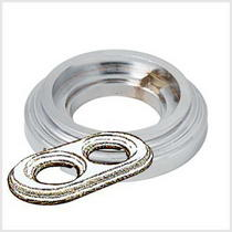 Рамка 2-х постовая хром металл BIRONI BF1-620-30
