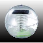 357215 NT15 047 прозрачный Садовый плавающий светильник IP66 1LED *0,06W SOLAR
