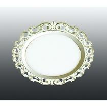 357264 NT16 281 белый/золото Встраиваемый светодиодный светильник IP20 60LED 12W 220-240V PEILI