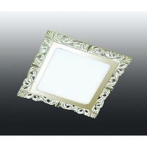 357278 NT16 281 белый/золото Встраиваемый светодиодный светильник IP20 45LED 9W 220-240V PEILI