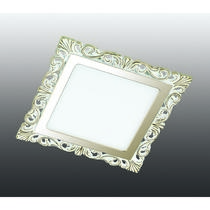 357279 NT16 281 белый/золото Встраиваемый светодиодный светильник IP20 60LED 12W 220-240V PEILI