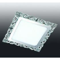 357282 NT16 282 белый/хром Встраиваемый светодиодный светильник IP20 60LED 12W 220-240V PEILI