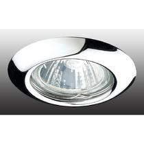 369112 NT09 261 хром Встраиваемый НП светильник GX5.3 50W 12V TOR