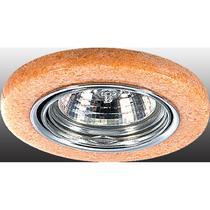 369281 NT09 226 хром/роз камень Встраиваемый ПВ светильник GX5.3 50W 12V STONE