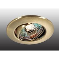 369691 NT12 256 бронза Встраиваемый ПВ светильник IP20 GX5.3 50W 12V CLASSIC