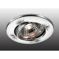369697 NT12 256 хром Встраиваемый ПВ светильник IP20 GX5.3 50W 12V CLASSIC