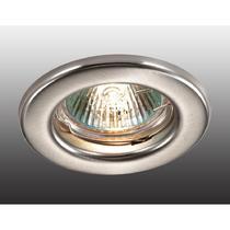 369703 NT12 258 никель Встраиваемый НП светильник IP20 GX5.3 50W 12V CLASSIC