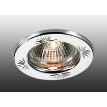 369706 NT12 258 хром Встраиваемый НП светильник IP20 GX5.3 50W 12V CLASSIC