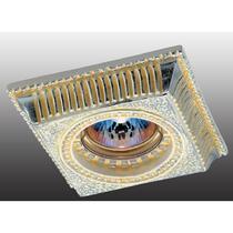 369832 NT12 329 жёлтый/серебро Встраиваемый светильник IP20 GX5.3 50W 12V SANDSTONE