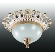 369983 NT15 176 белый/золото/стекл.матов.плафон Встраиваемый светильник IP20 GX5.3 50W 12V BAROQUE