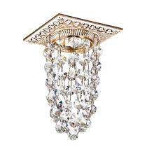 369994 NT15 106 белый/золото/хрусталь Встраиваемый светильник IP20 GX5.3 50W 12V GRAPE