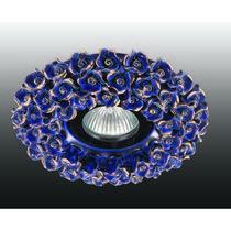 370043 NT15 173 синий/золото Встраиваемый светильник IP20 GX5.3 50W 12V FARFOR
