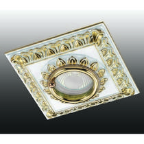370047 NT15 270 белый/золото Встраиваемый светильник IP44 GX5.3 50W 12V DAISY