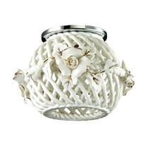 370207 NT16 082 белый/золото Встраиваемый декоративный светильник IP20 G9 40W 220V FARFOR
