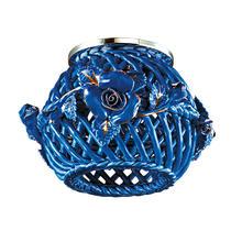 370209 NT16 082 голубой/золото Встраиваемый декоративный светильник IP20 G9 40W 220V FARFOR