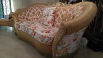Диван Беатриче с механизмом для сна с матрасом и подушками
