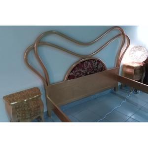 комплект кровать+2 тумбочки+2 комода (Италия)!
