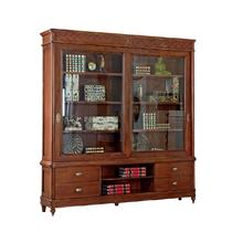 Библиотека-купе 2-х дверная  Артикул: BJ913 Бурбон МОНТЕ КРИСТО МОБИЛИ (Bourbon MONTE CRISTO MOBILI)