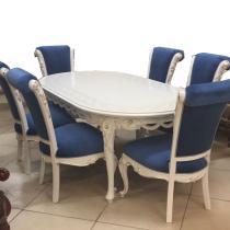 комплект стол обеденный + 6 стульев