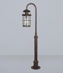 Уличный фонарь L'ARTE LUCE BATTISTA L70985.07