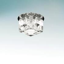 004064 Светильник ROMB MICRO CR G4 ХРОМ/ПРОЗРАЧНЫЙ