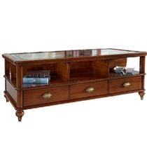 Столик с ящиками и стеклом  Артикул: BJ834